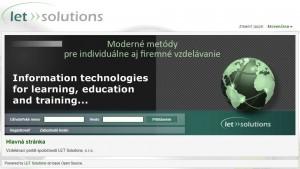 LMS spoločnosti LET Solutions, s.r.o.